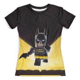 """Футболка с полной запечаткой (женская) """"Лего Фильм: Бэтмен / The LEGO Batman Movie"""" - комикс, рисунок, кино, бэтмен, лего"""