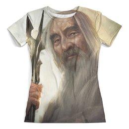 """Футболка с полной запечаткой (женская) """"The Lord of the Rings"""" - арт, властелин колец, гендальф, the lord of the rings, фродо"""