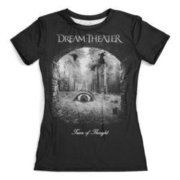"Футболка с полной запечаткой (женская) ""Dream Theater"" - музыка, heavy metal, группы, метал, dream theater"