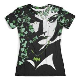 """Футболка с полной запечаткой (женская) """"Poison Ivy"""" - бэтмен, комикс, poison ivy, ядовитый плющ"""