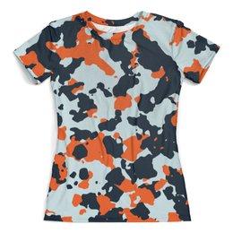 """Футболка с полной запечаткой (женская) """"CS GO: Asiimov camouflage"""" - камуфляж, пиксели, игры, cs go, asiimov"""