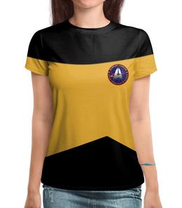 "Футболка с полной запечаткой ""Star Trek"" - арт, star trek"