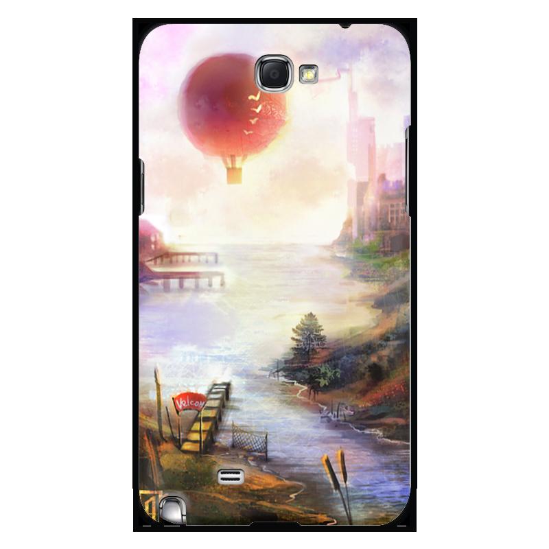 Чехол для Samsung Galaxy Note 2 Printio Город солнца