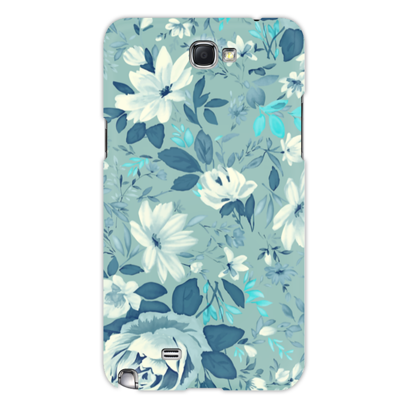 Чехол для Samsung Galaxy Note 2 Printio Цветы. акварель