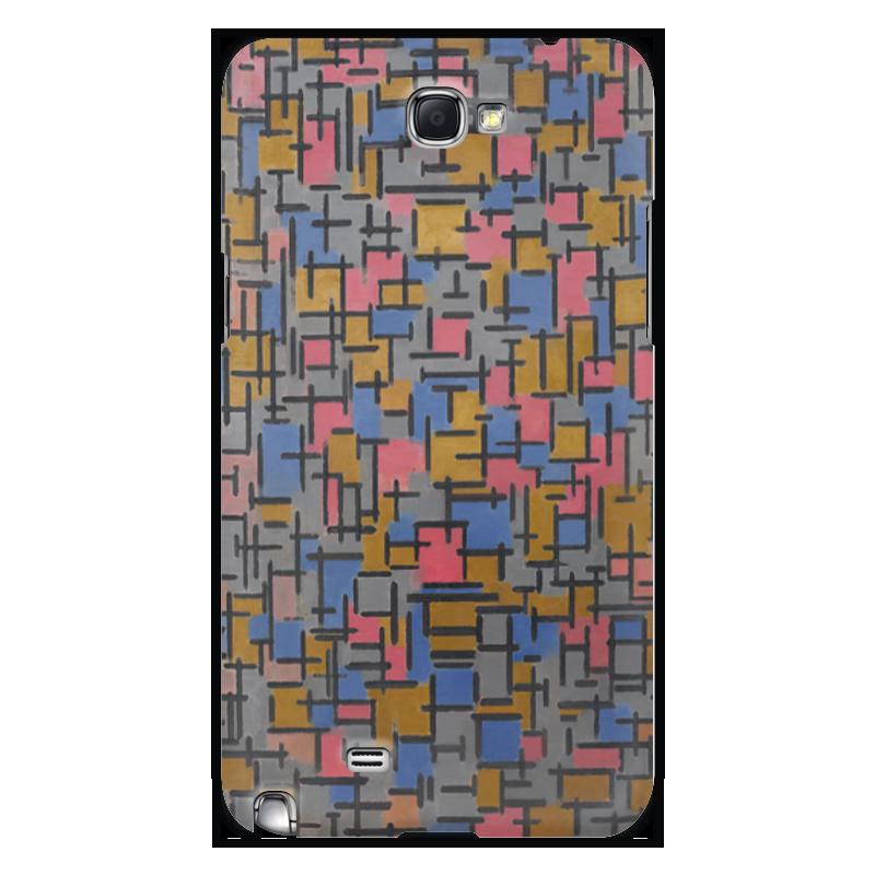 Чехол для Samsung Galaxy Note 2 Printio Композиция (питер мондриан) чехол для samsung galaxy s5 printio бродвей буги вуги питер мондриан
