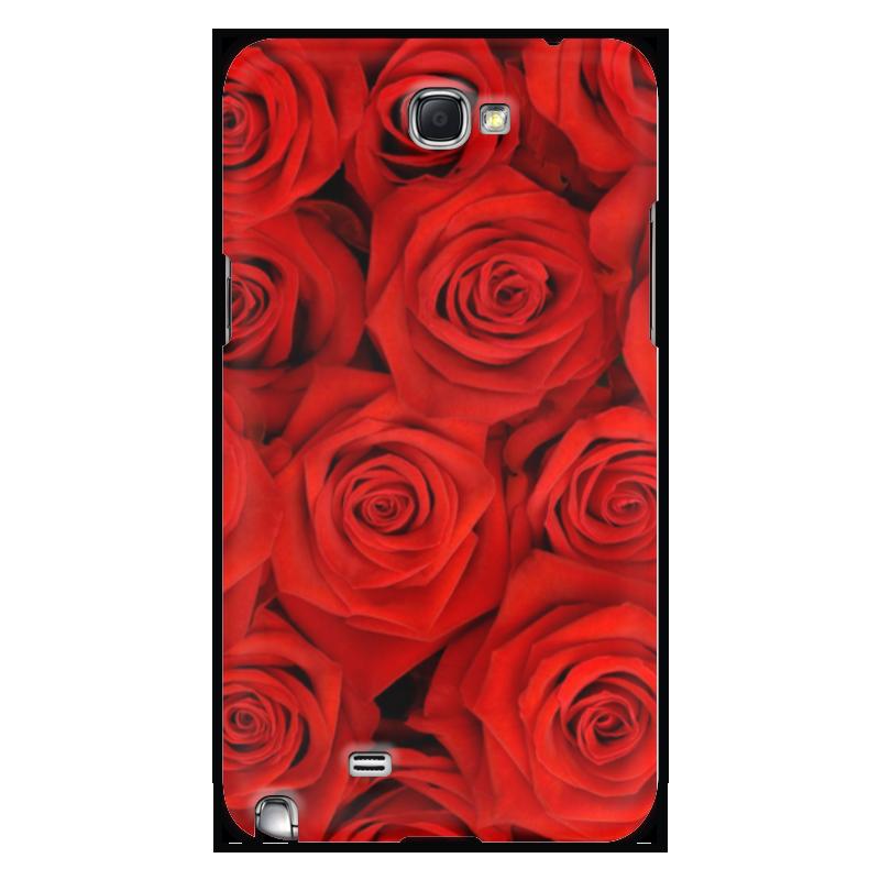 Чехол для Samsung Galaxy Note 2 Printio Цветы чехол для для мобильных телефонов rcd 4 samsung 4 for samsung galaxy note 4 iv