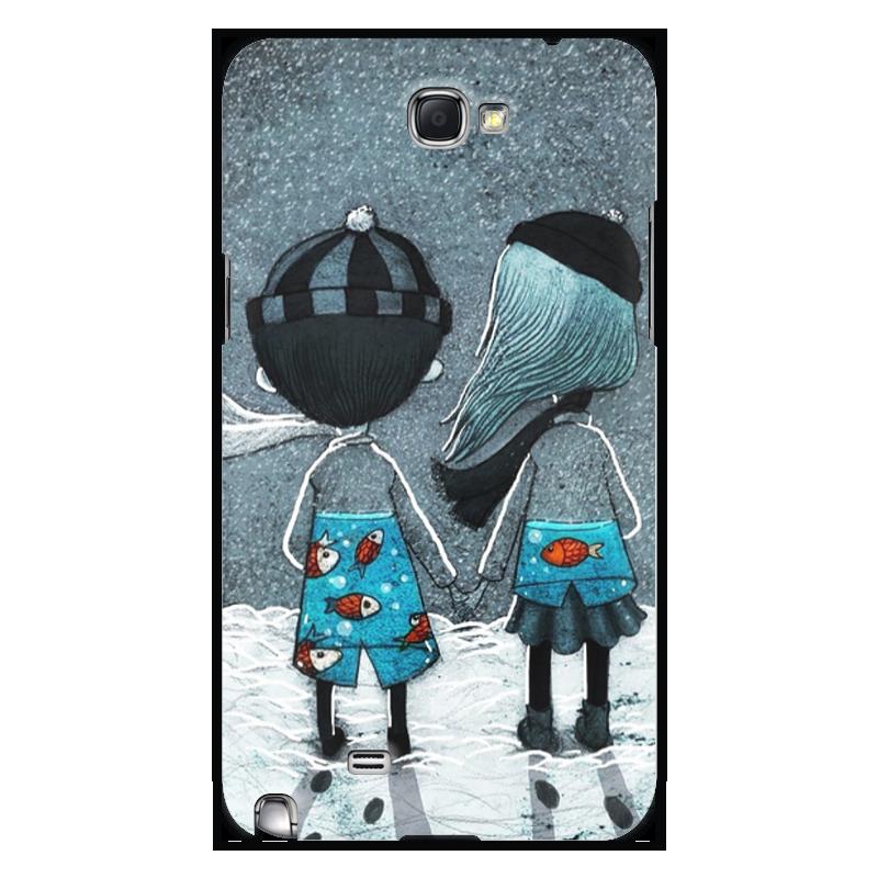 Чехол для Samsung Galaxy Note 2 Printio Любовь чехол для ноутбука 14 printio любовь