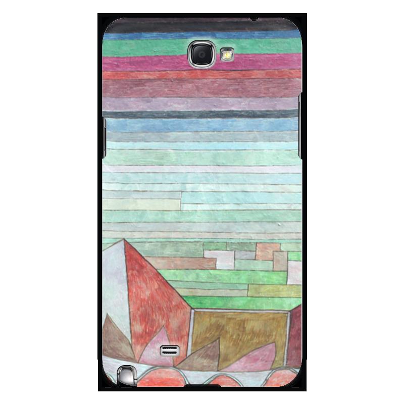 Чехол для Samsung Galaxy Note 2 Printio Вид на плодородную страну