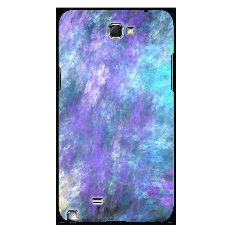Чехол для Samsung Galaxy Note 2 Printio Абстрактный дизайн браун роуз дизайн кожа pu откидная крышка бумажника карты держатель чехол для samsung s4mini