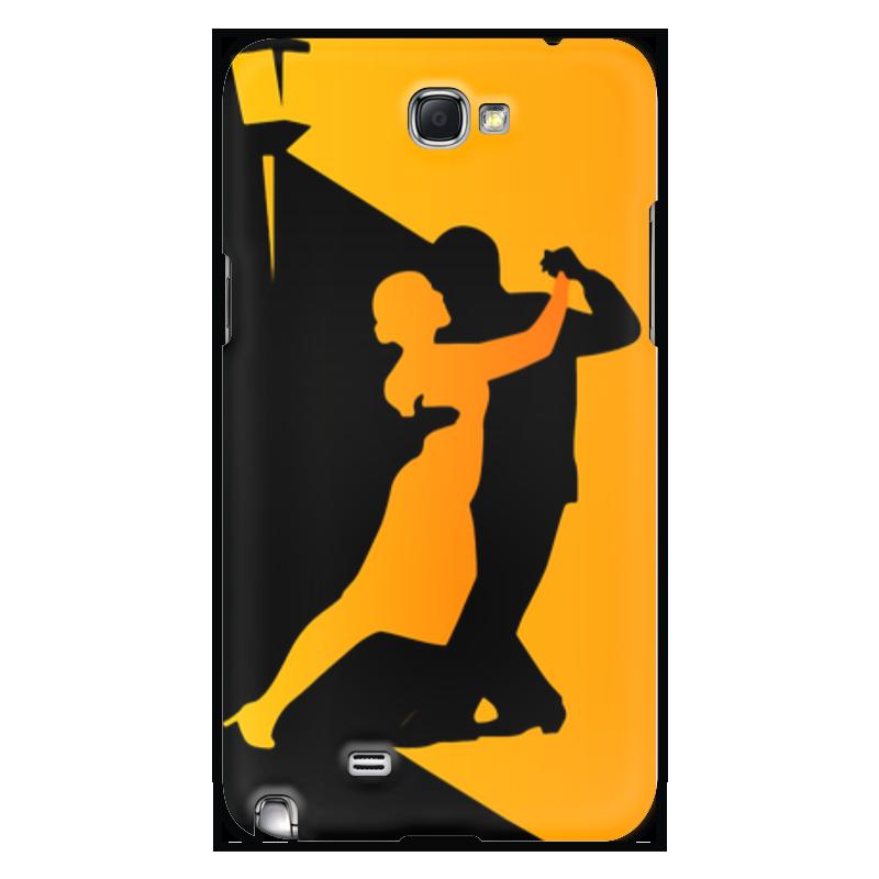Чехол для Samsung Galaxy Note 2 Printio Танго в ночи мячи адидас танго в киеве