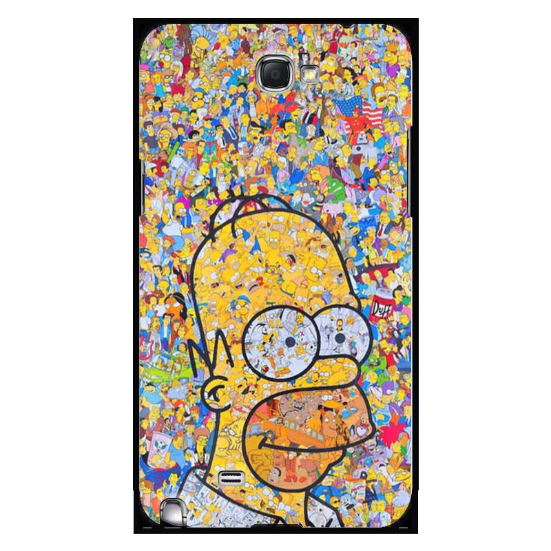 Чехол для Samsung Galaxy Note 2 Printio Симпсоны чехол для ноутбука 14 printio симпсоны