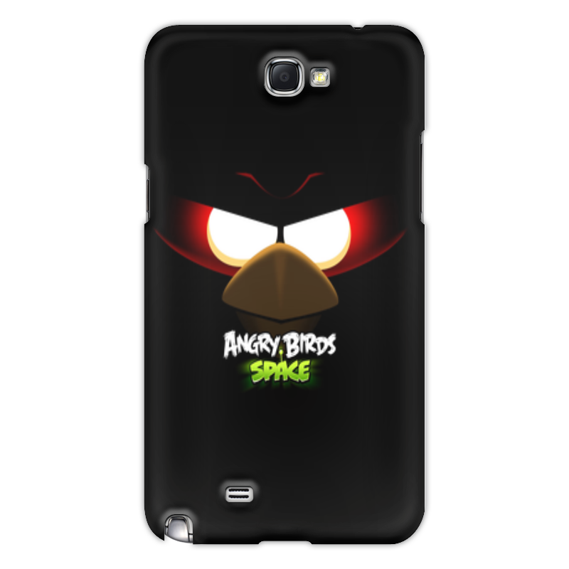 Чехол для Samsung Galaxy Note 2 Printio Space (angry birds)