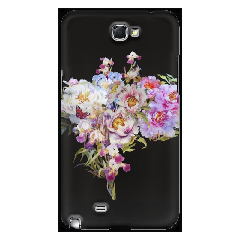 Чехол для Samsung Galaxy Note 2 Printio Цветочный букет. промо коллекция melkco кожаный чехол для samsung galaxy style duos i8262d красный весенний букет