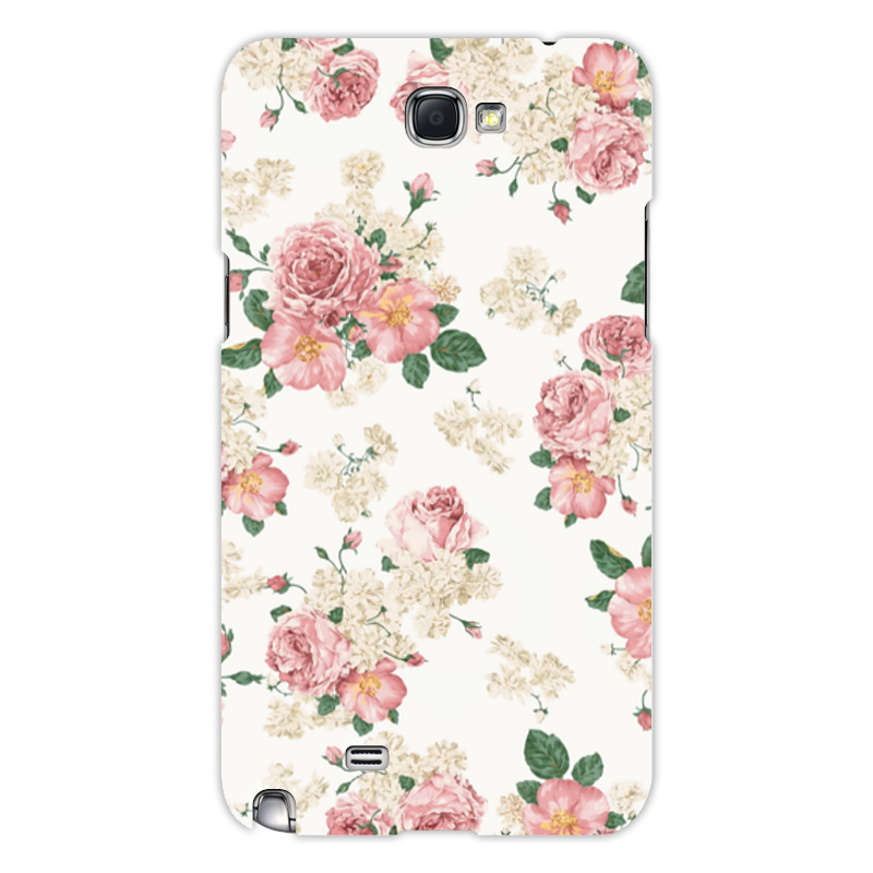 Чехол для Samsung Galaxy Note 2 Printio Цветы чехол для ноутбука 14 printio чехол чехол чехол луговые цветы