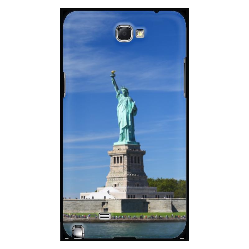 Чехол для Samsung Galaxy Note 2 Printio Статуя свободы лонгслив printio однажды в америке 2 черн