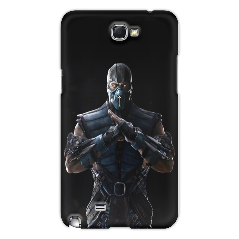 Чехол для Samsung Galaxy Note 2 Printio Mortal kombat x (sub-zero) аксессуар чехол для samsung galaxy note 8 x level guardian blue 2828 045