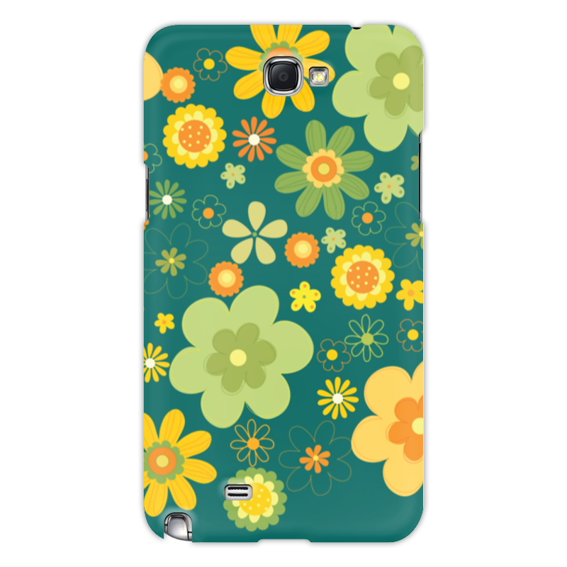 Чехол для Samsung Galaxy Note 2 Printio Хиппи