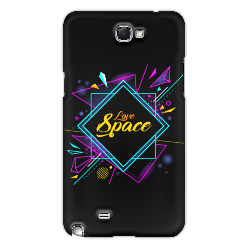 Чехол для Samsung Galaxy Note 2 Printio Love space чехол для samsung galaxy note 2 printio dead space 3