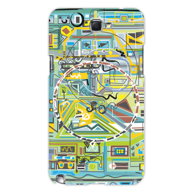 Чехол для Samsung Galaxy Note 2 Printio Березка чехол для для мобильных телефонов rcd 4 samsung 4 for samsung galaxy note 4 iv