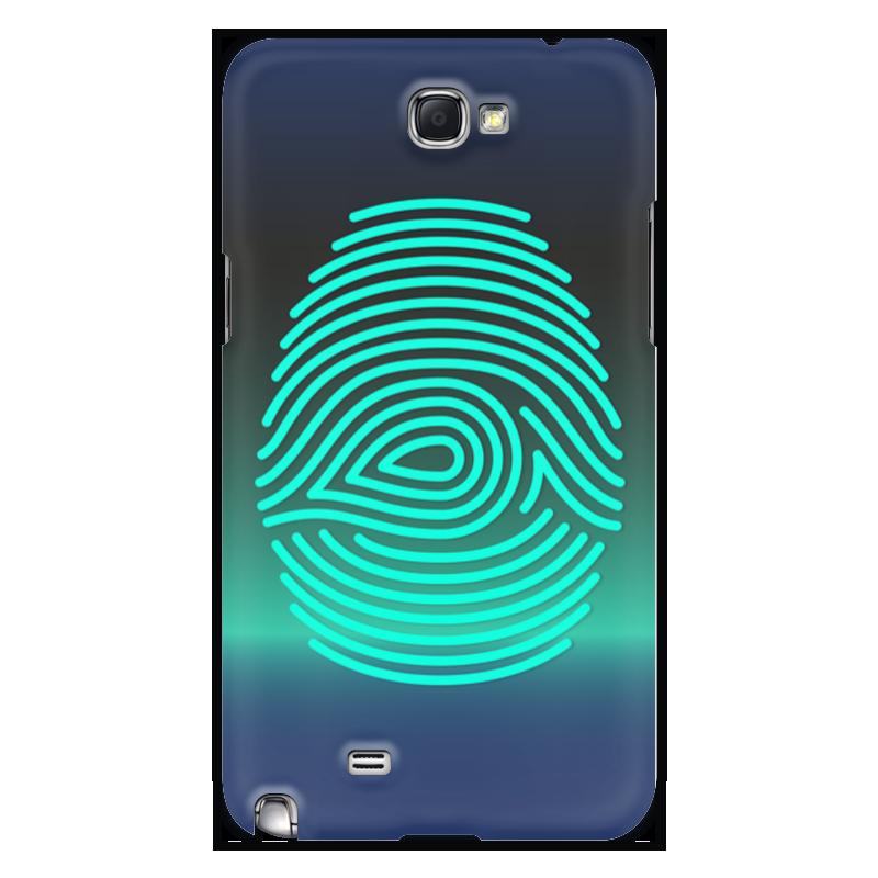 Чехол для Samsung Galaxy Note 2 Printio Отпечаток пальца чехол для для мобильных телефонов rcd 4 samsung 4 for samsung galaxy note 4 iv