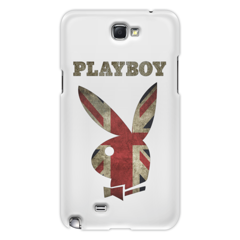 Чехол для Samsung Galaxy Note 2 Printio Playboy британский флаг
