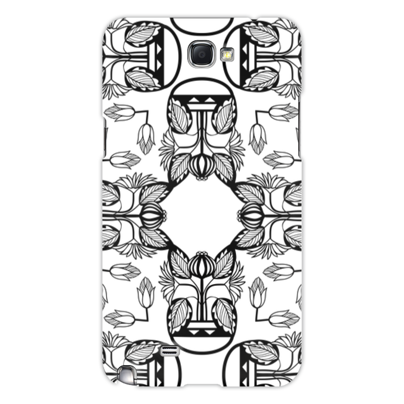 Чехол для Samsung Galaxy Note 2 Printio Индийские мотивы
