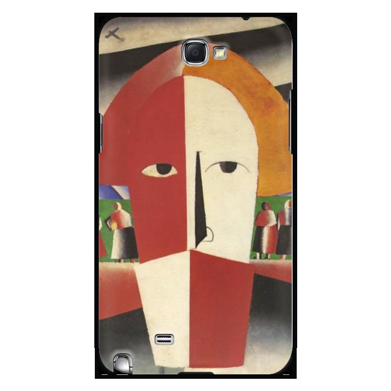 Чехол для Samsung Galaxy Note 2 Printio Голова крестьянина (казимир малевич)
