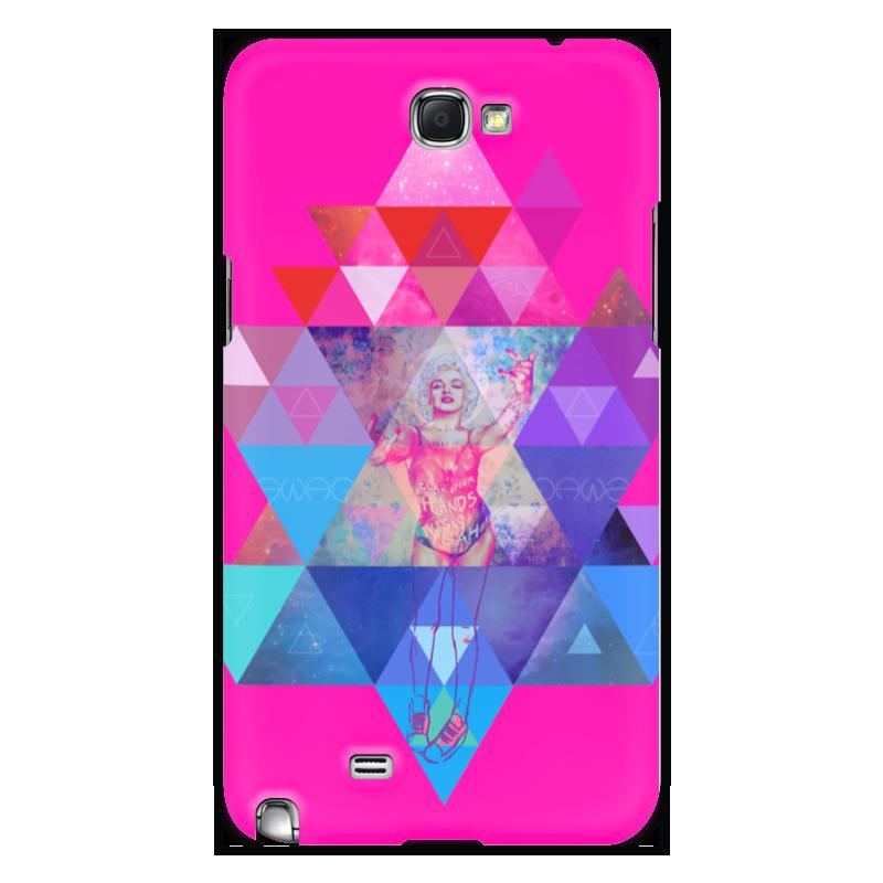 Чехол для Samsung Galaxy Note 2 Printio hipsta swag collection: marilyn monroe