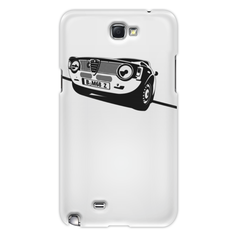 Чехол для Samsung Galaxy Note 2 Printio Retro alfa romeo racing кружка printio retro alfa romeo racing
