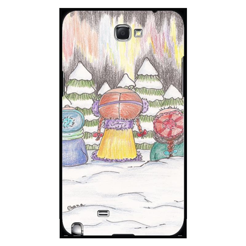 Чехол для Samsung Galaxy Note 2 Printio Северное сияние чехол для samsung galaxy note 2 printio северное сияние