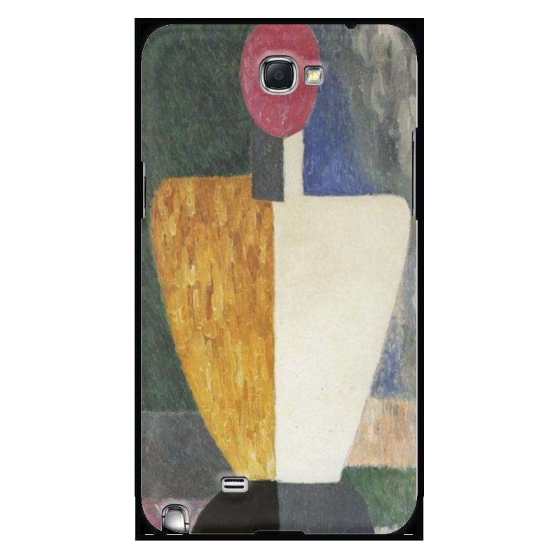 Чехол для Samsung Galaxy Note 2 Printio Торс (фигура с розовым лицом) (малевич) чехол для samsung galaxy s5 printio торс фигура с розовым лицом малевич