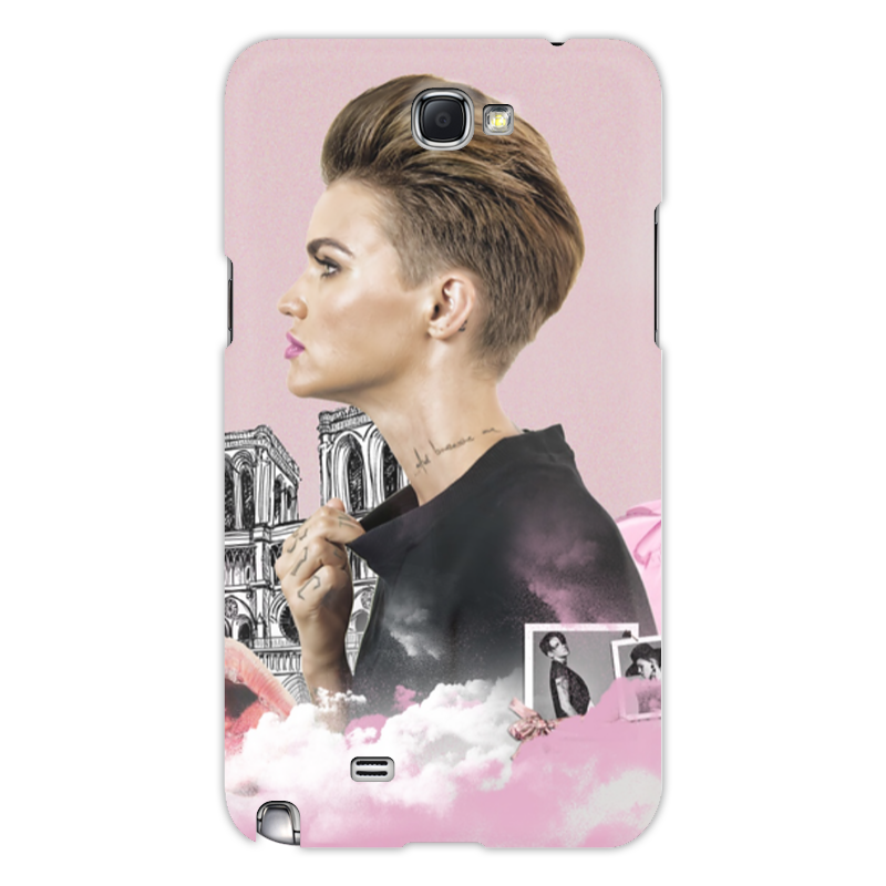 Чехол для Samsung Galaxy Note 2 Printio Ruby rose