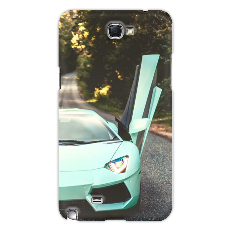Чехол для Samsung Galaxy Note 2 Printio Lamborghini