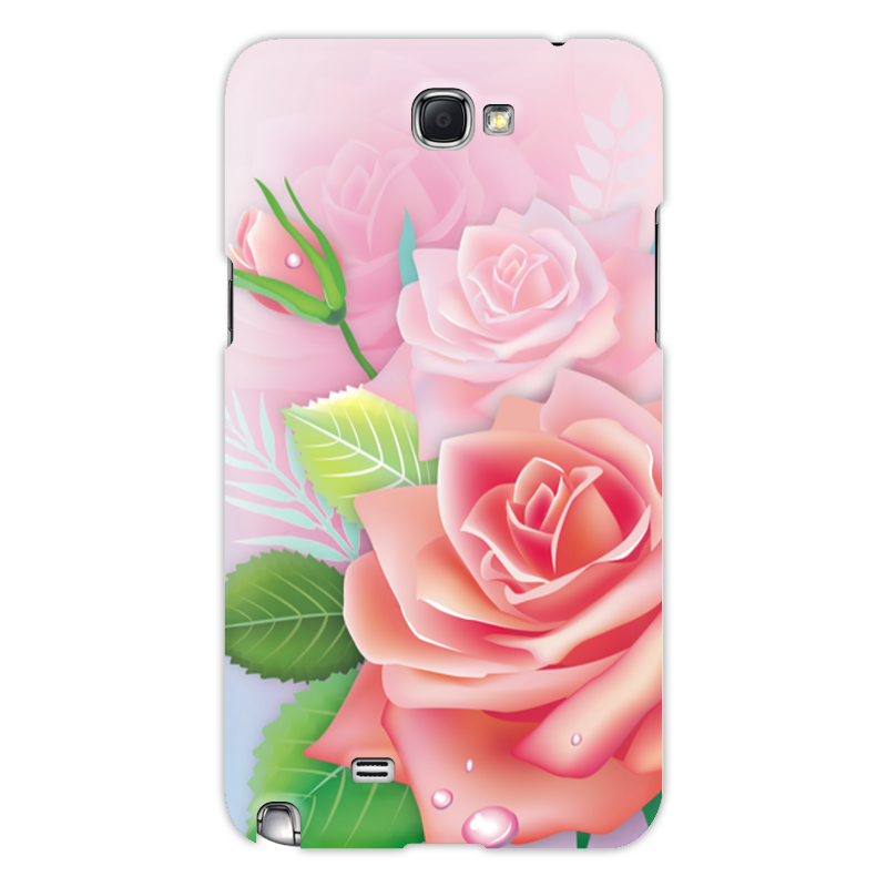 Чехол для Samsung Galaxy Note 2 Printio Розочка leader kids джемпер с капюш розочка роз р 140