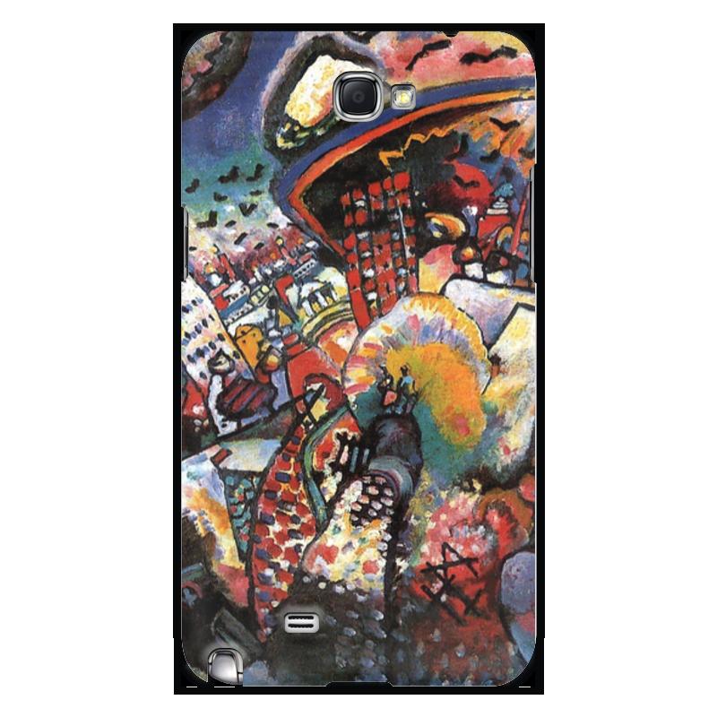 Чехол для Samsung Galaxy Note 2 Printio Москва. красная площадь