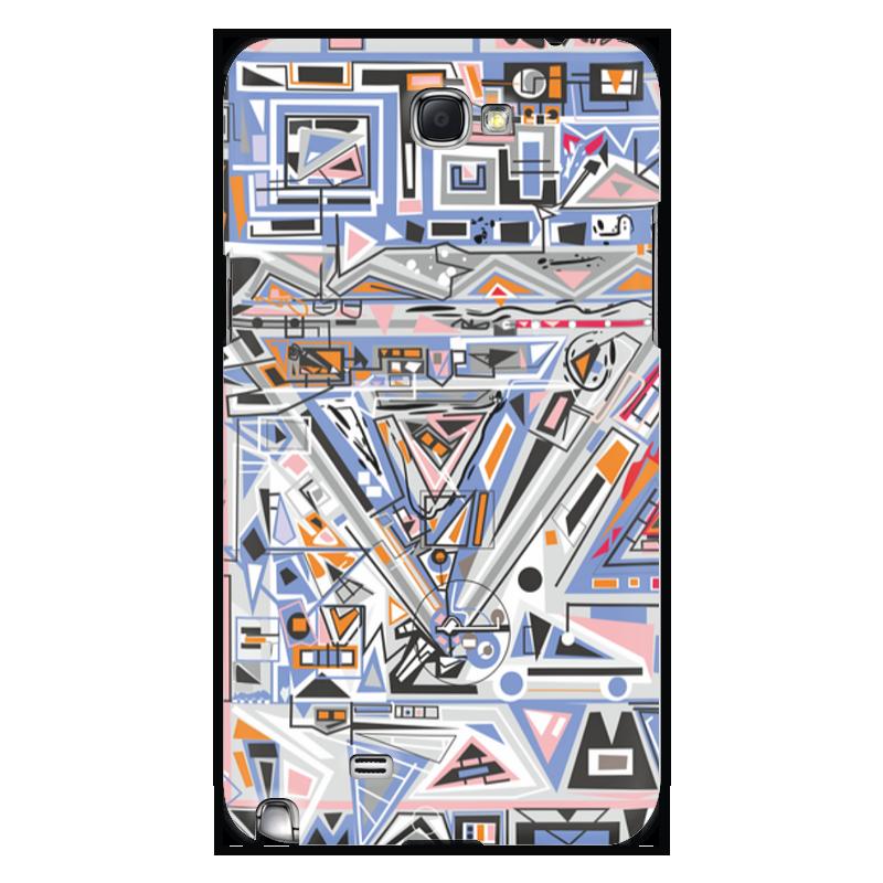 Чехол для Samsung Galaxy Note 2 Printio Ташизм чехол для для мобильных телефонов rcd 4 samsung 4 for samsung galaxy note 4 iv