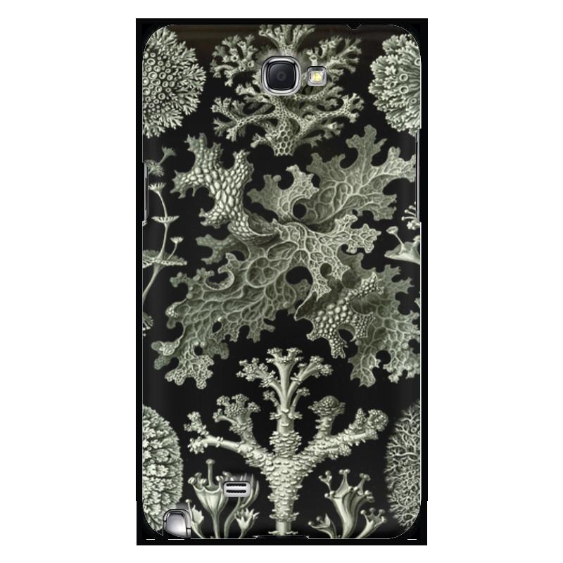 Чехол для Samsung Galaxy Note 2 Printio Лишайники (lichenes, ernst haeckel) чехол для samsung galaxy s7 edge силиконовый printio лишайники lichenes ernst haeckel