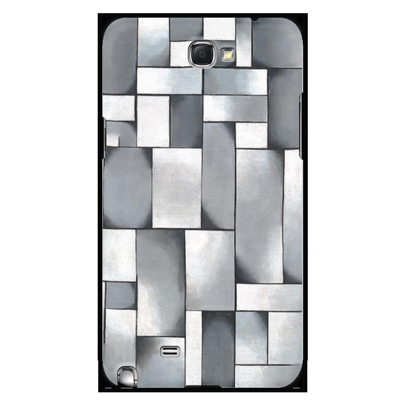 Чехол для Samsung Galaxy Note 2 Printio Композиция в сером чехол для samsung galaxy s5 printio композиция в сером