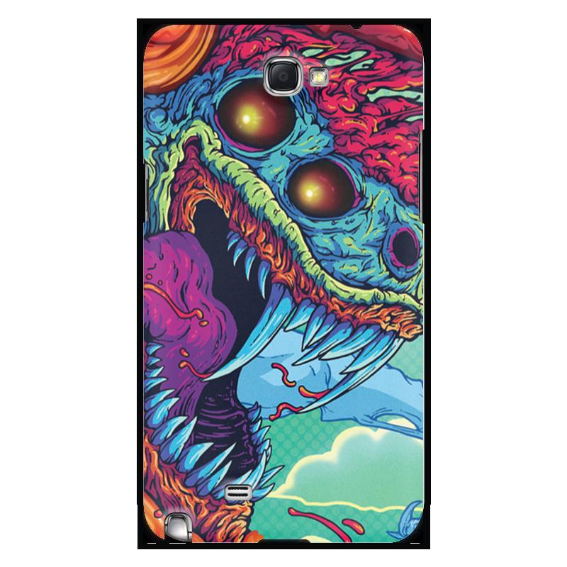 Чехол для Samsung Galaxy Note 2 Printio Hyper beast чехол для карточек монстр фиолетовый дк2017 105