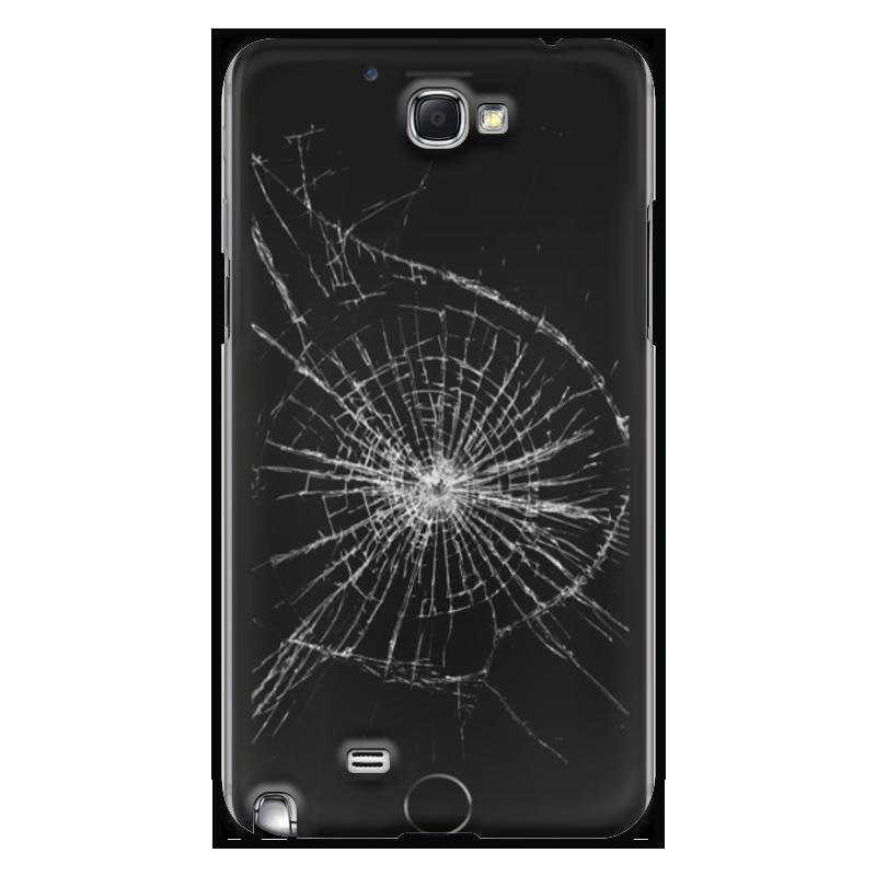Чехол для Samsung Galaxy Note 2 Printio Разбитый экран чехол для samsung galaxy note printio разбитый экран