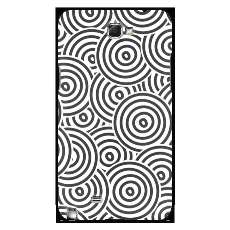 Чехол для Samsung Galaxy Note 2 Printio Радиальная чехол для для мобильных телефонов rcd 4 samsung 4 for samsung galaxy note 4 iv