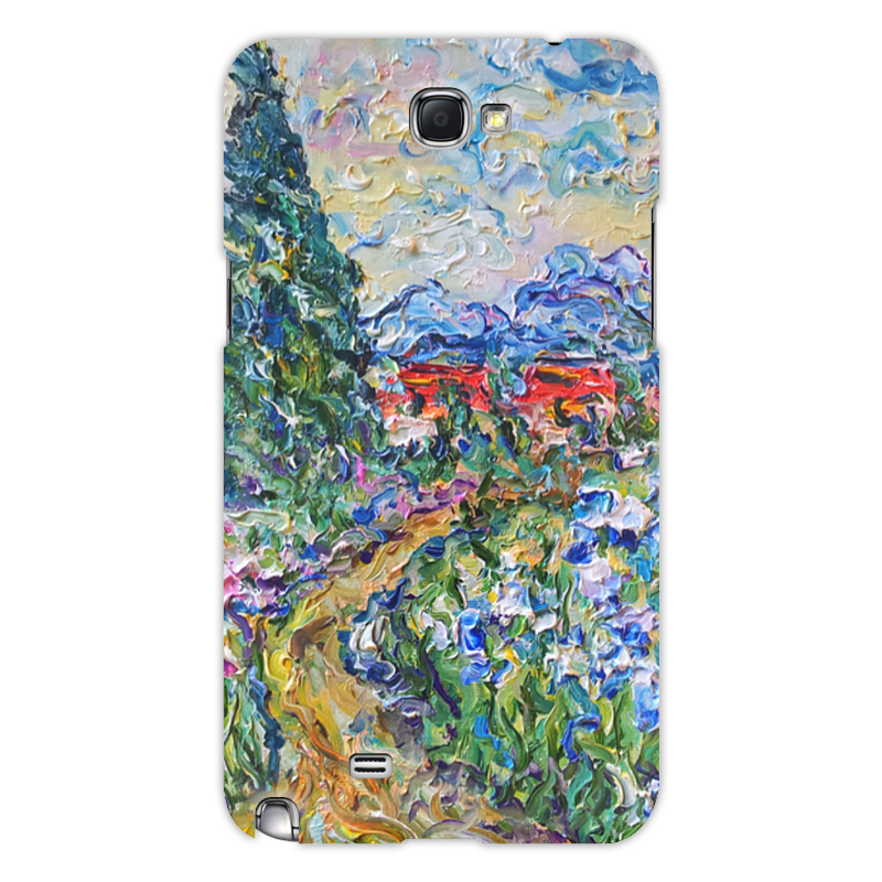Чехол для Samsung Galaxy Note 2 Printio Италия