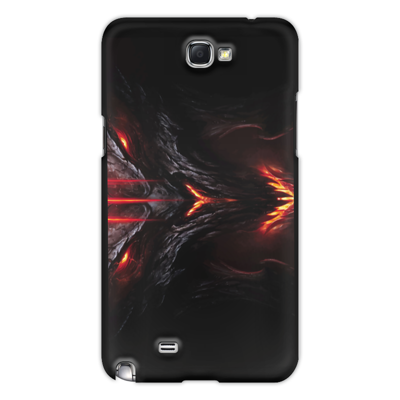 Чехол для Samsung Galaxy Note 2 Printio Игра doom doom игра для ps4