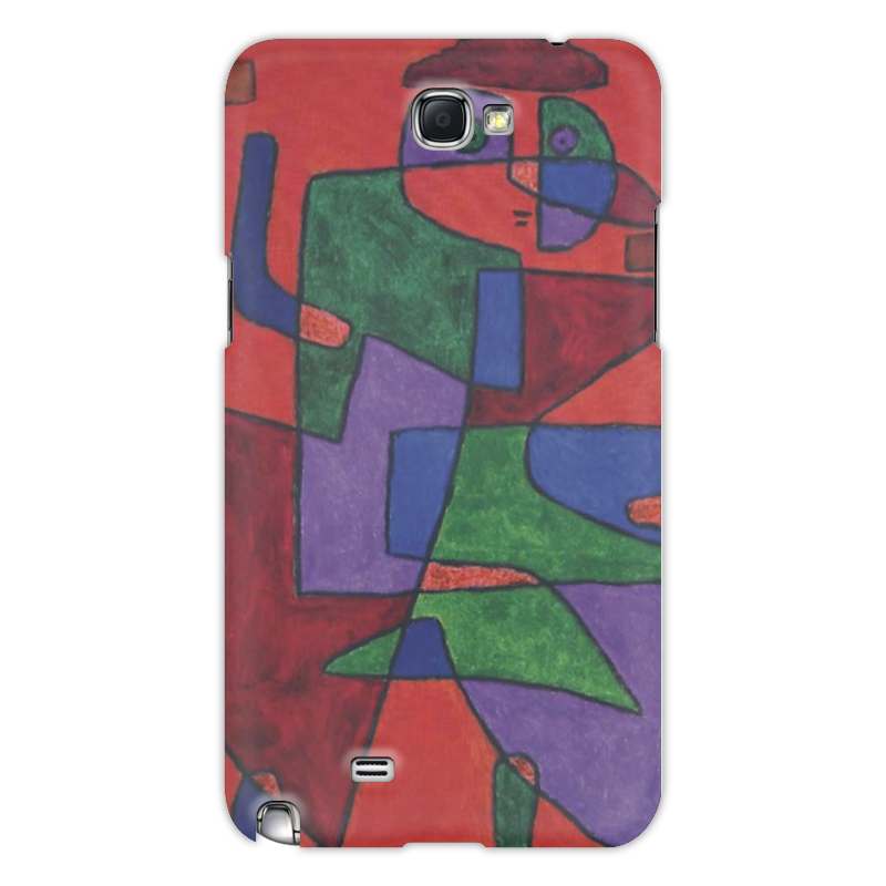 Чехол для Samsung Galaxy Note 2 Printio Будущее (пауль клее) чехол для для мобильных телефонов rcd 4 samsung 4 for samsung galaxy note 4 iv