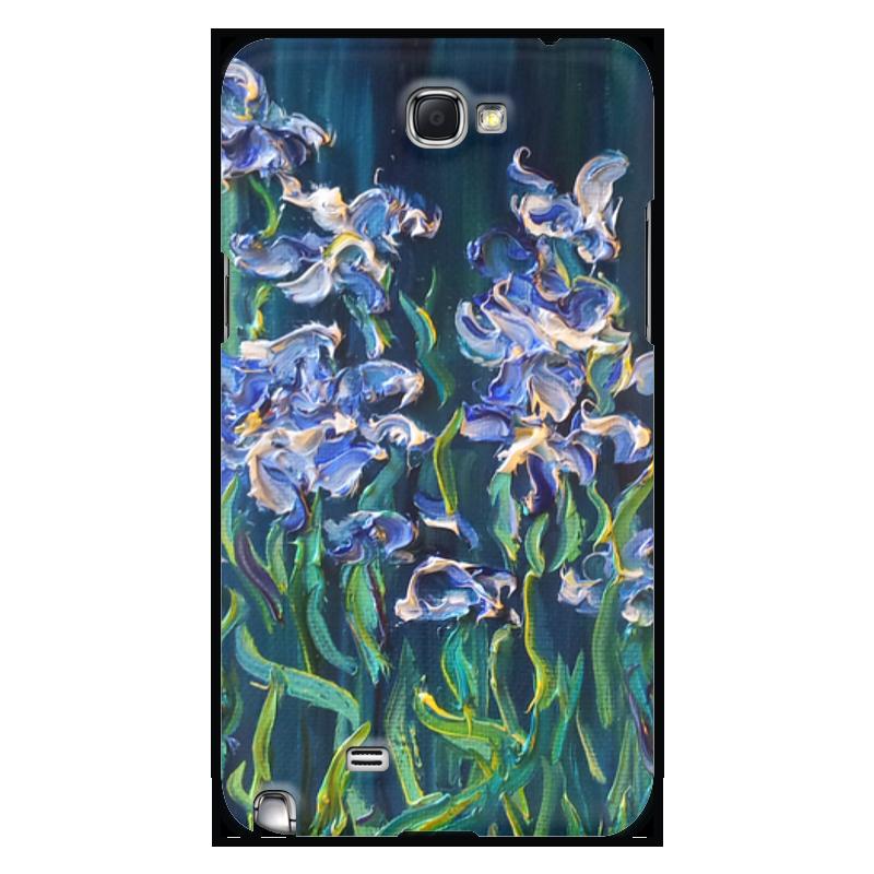 Чехол для Samsung Galaxy Note 2 Printio Ирисы http