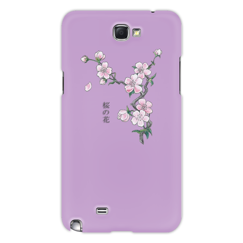 Чехол для Samsung Galaxy Note 2 Printio Японская сакура блокнот printio сакура
