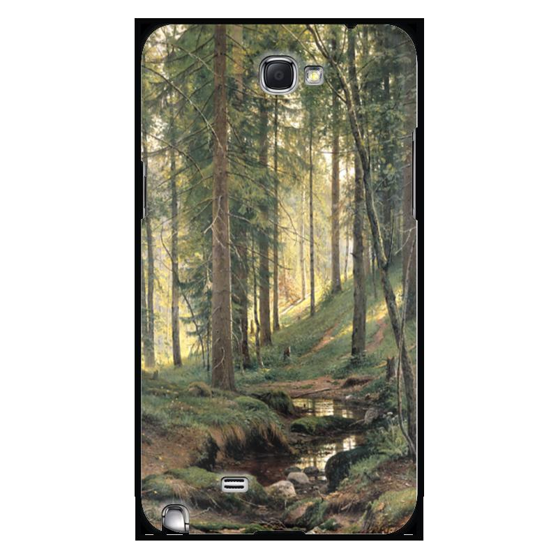 Чехол для Samsung Galaxy Note 2 Printio Ручей в лесу чехол для samsung galaxy s5 printio череп художник