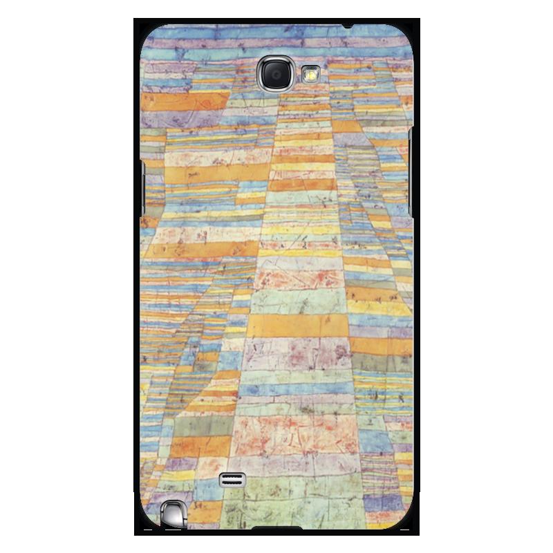 Чехол для Samsung Galaxy Note 2 Printio и переулки (пауль клее)