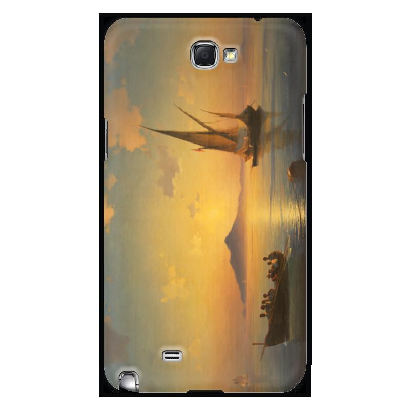 Чехол для Samsung Galaxy Note 2 Printio Неаполитанский залив настенные часы русский меценат рм 775