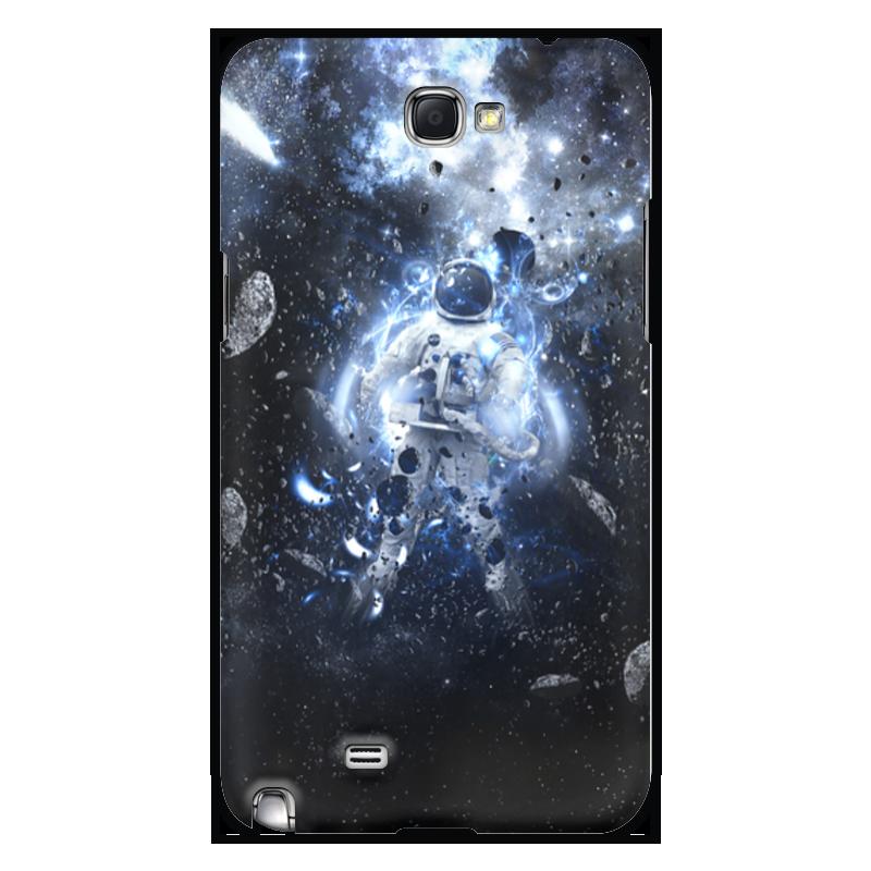 Чехол для Samsung Galaxy Note 2 Printio Астрнавт/космос чехол для для мобильных телефонов rcd 4 samsung 4 for samsung galaxy note 4 iv